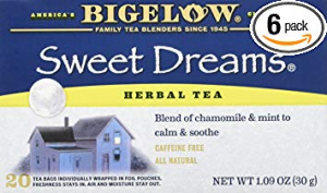 bigelow sweet dreams herbal tea for sleep
